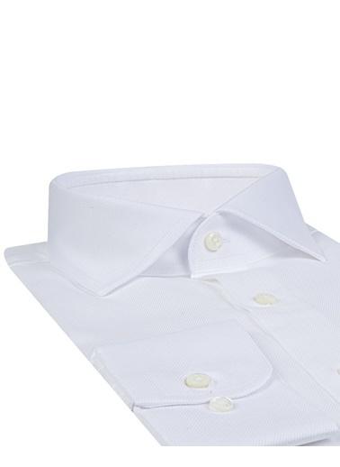 Damat Slim Fit Gömlek Beyaz